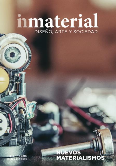 Ver Vol. 1 Núm. 1 (2016): Nuevos materialismos